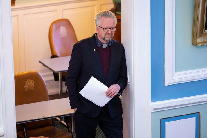Sigurður Páll Jónsson, þingmaður Miðflokksins.