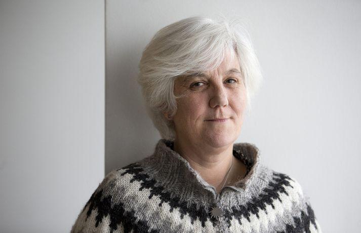 Shelagh Smith, varaformaður Félags kvenna af erlendum uppruna