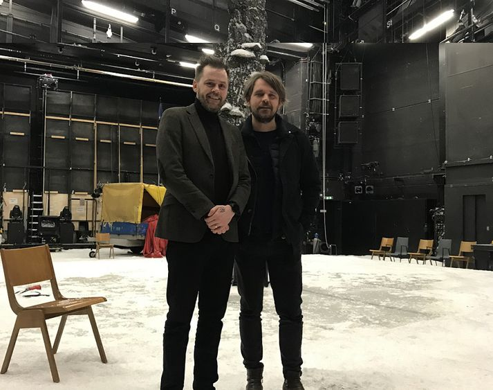 Mikael Torfason og Þorleifur Örn Arnarsson.