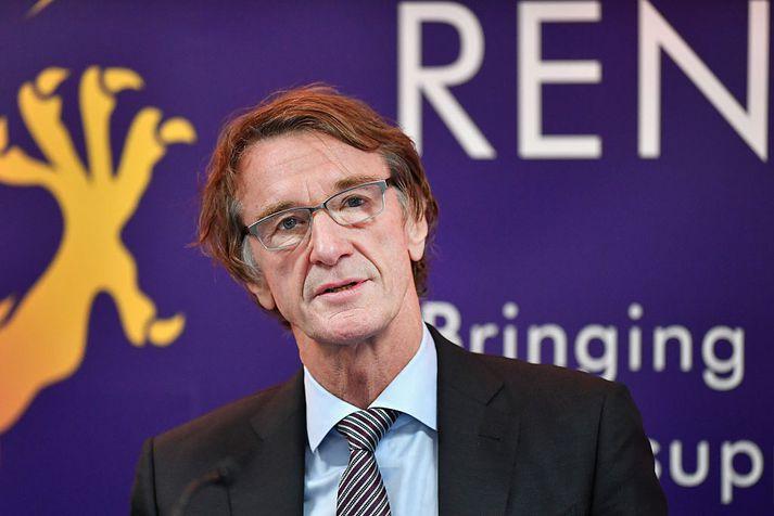 Jim Ratcliffe hefur staðið í stórtækum jarðakaupum hér á landi síðustu ár.