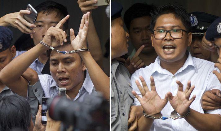 Kyaw Soe Oo og Wa Lone.