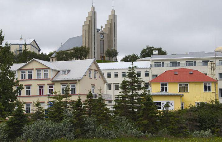 Sjanghæ stendur við Strandgötu á Akureyri.