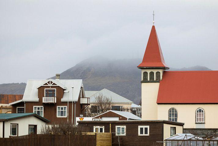 Stóri skjálftinn fannst einna best í Grindavík, sem er nálægt upptakasvæðinu.