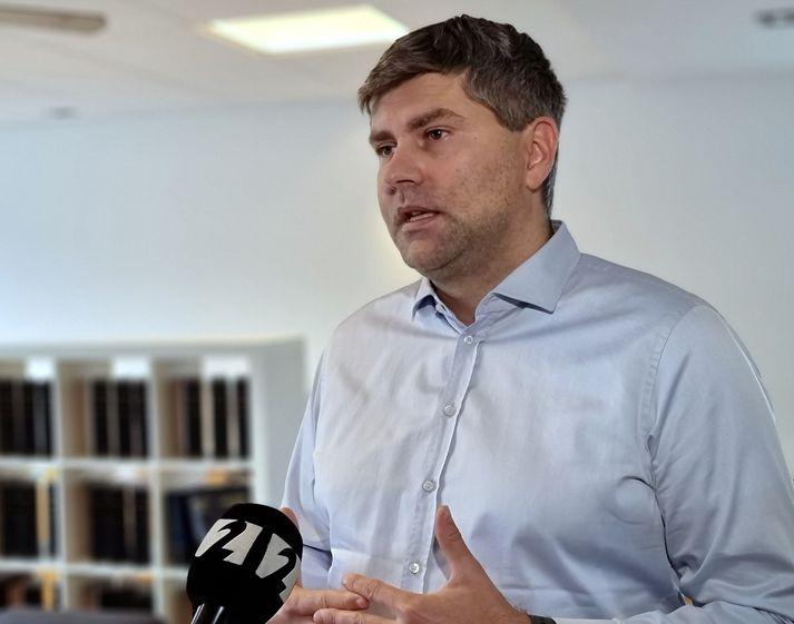 Snorri Jakobsson, hagfræðingur og eigandi Jakobsson Capital.