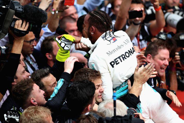 Lewis Hamilton ætti að hafa það ágætt þessa dagana