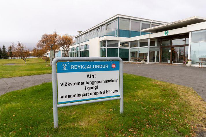 Starfsfólk Reykjalundar hefur margt áhyggjur af stöðunni sem þar er uppi.