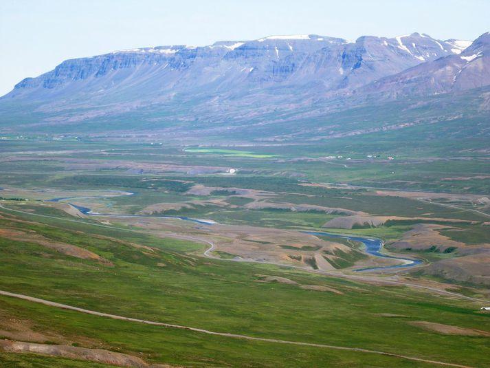 Vegna jarðakaupa sinna á breski auðkýfingurinn James Ratcliffe til dæmis veiðiréttindi í Hofsá í Vopnafirði.