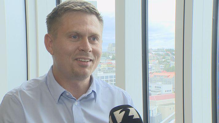 Sveinn Ingi Steinþórsson, einn stofnenda WAB air.
