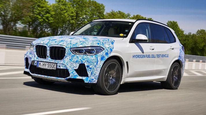 BMW X5 - vetnishlaðinn