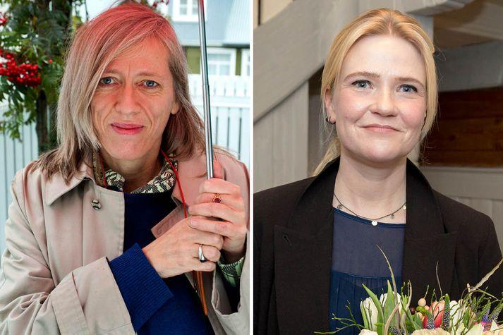 Nöfnurnar Kristín Ómarsdóttir og Kristín Eiríksdóttir eru tilnefndar til Bókmenntaverðlauna Norðurlandaráðs.