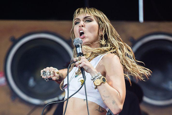 Miley hefur ekkert að fela.