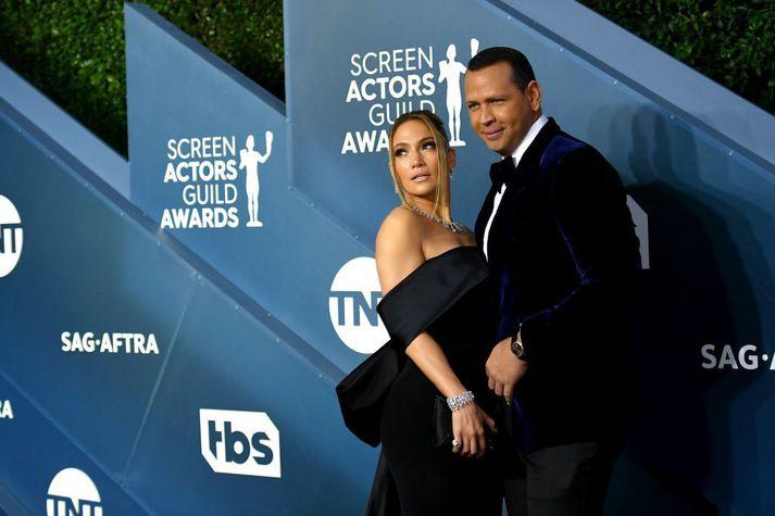 Jennifer Lopez og Alex Rodriguez höfðu verið saman í um fjögur ár og verið trúlofuð í tvö.
