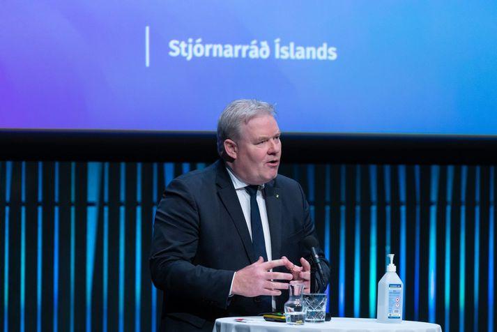 Sigurður Ingi Jóhannsson er ráðherra sveitarstjórnarmála.