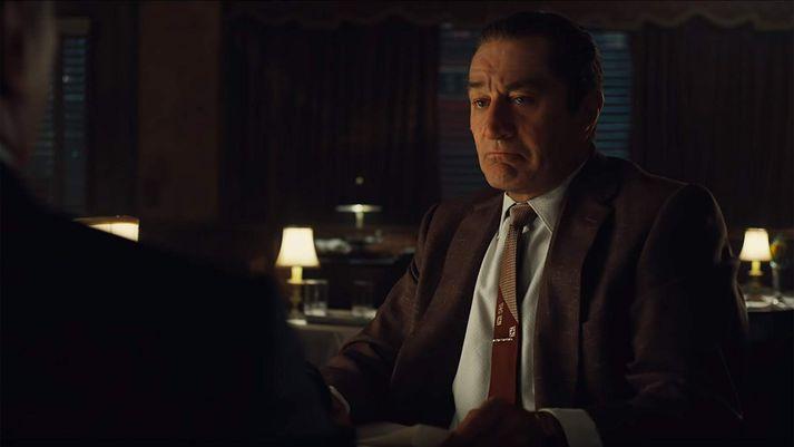 "Robert De Niro leikur Frank ""The Irishman"" Sheeran í myndinni."