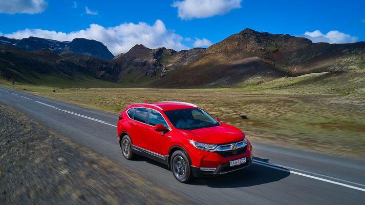 Honda CRV er til í Hybrid útgáfu.