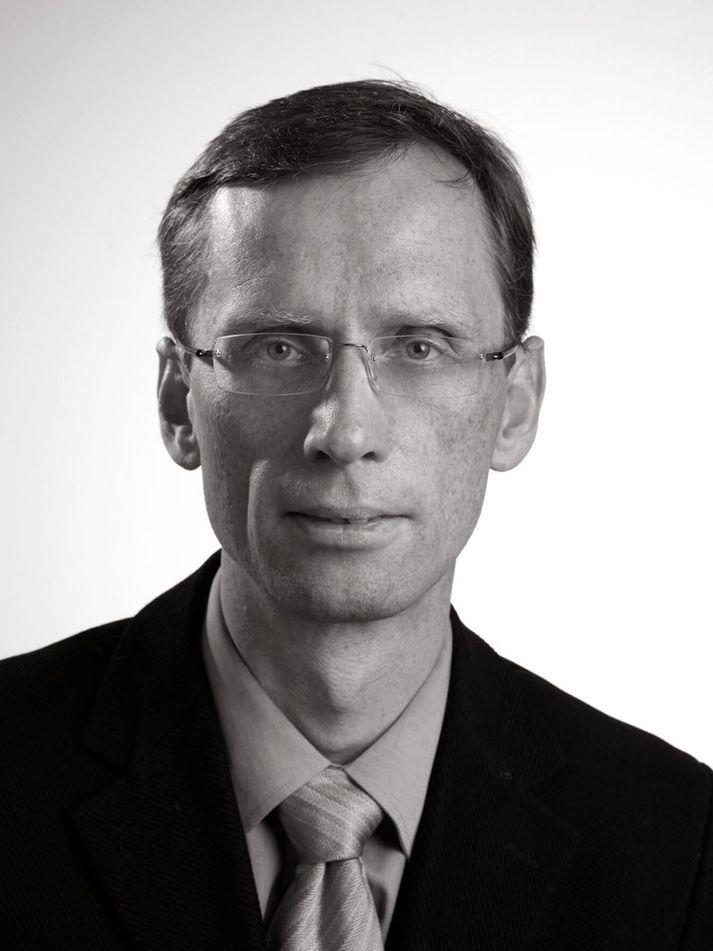 Pétur H Hannesson yfirmaður röntgendeild LSH Landspítali