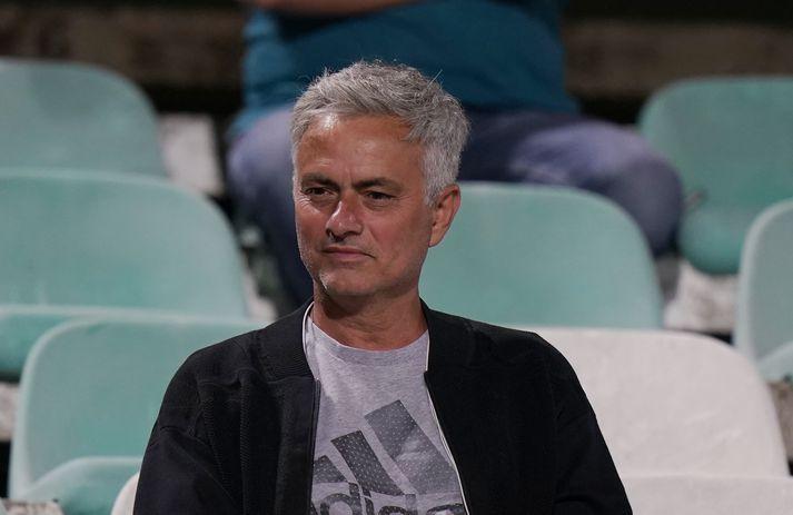Mourinho stýrir Tottenham í fyrsta sinn á laugardaginn.