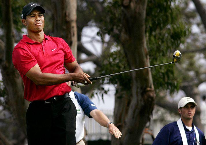 Tiger Woods árið 2008