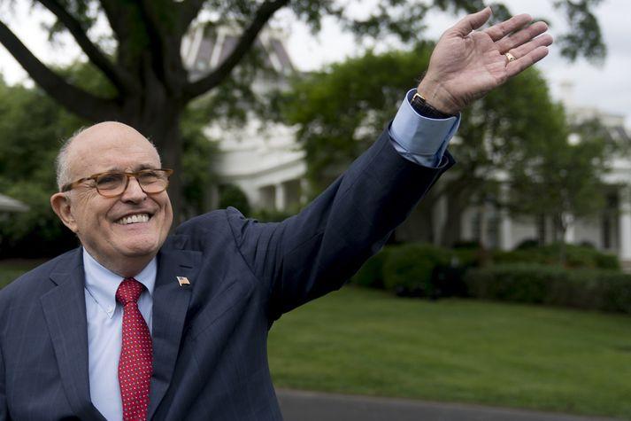 Rudy Giuliani, lögmaður Trump.