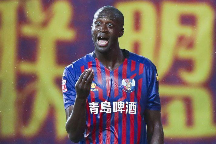 Yaya Toure spilar nú í Kína.
