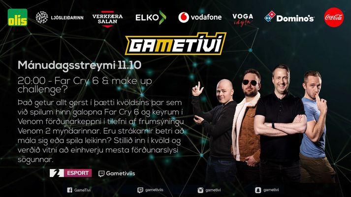 GameTíví förðun