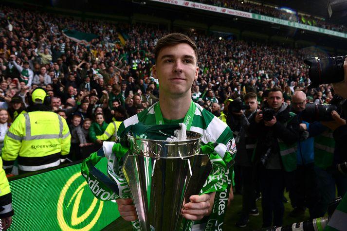 Tierney hefur unnið átta stóra titla með Celtic.