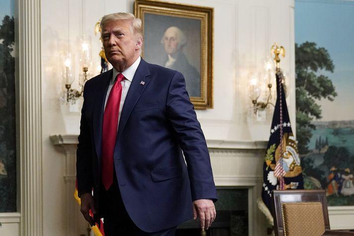 Málflutningur Donald Trumps og bandamanna hans hefur ekki hlotið hljómgrunn meðal dómara í Bandaríkjunum.