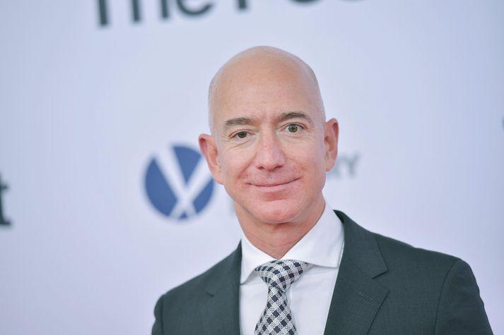 Jeff Bezos, forstjóri Amazon og ríkasti maður heims.
