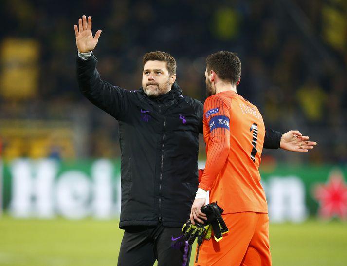 Pochettino eftir sigurinn á Dortmund í 16-liða úrslitunum.