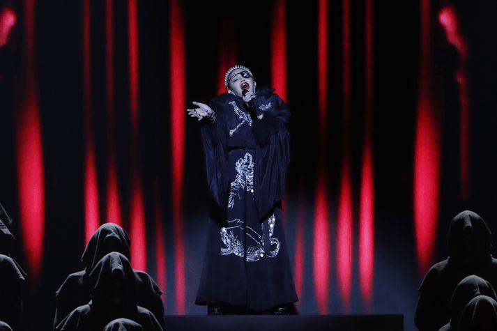 Madonna hefur átt betri daga á sviði en síðastliðinn laugardag.