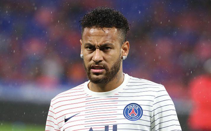 Neymar í leik með PSG.