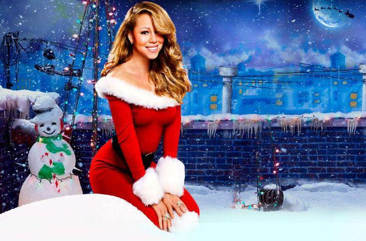 Mariah Carey á eitt vinsælasta jólalag sögunnar.