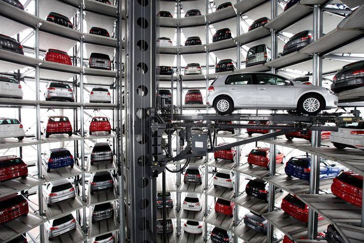 Merkin Audi og Porsche skiluðu hvort um sig meiri hagnaði en Volkswagen-merkið sjálft.