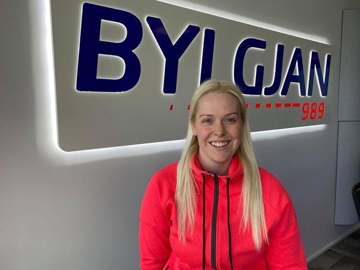 Karen Ösp Guðbjartsdóttir er markvörður ÍR í Grill 66-deildinni.