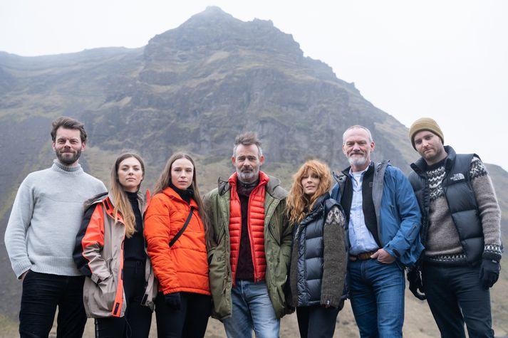 Björn Thors,Íris Tanja Flygenring, Guðrún Ýr Eyfjörð, Baltasar Kormákur,Aliette Opheim, Ingvar E. Sigurðsson ogBaltasar Breki Samper.