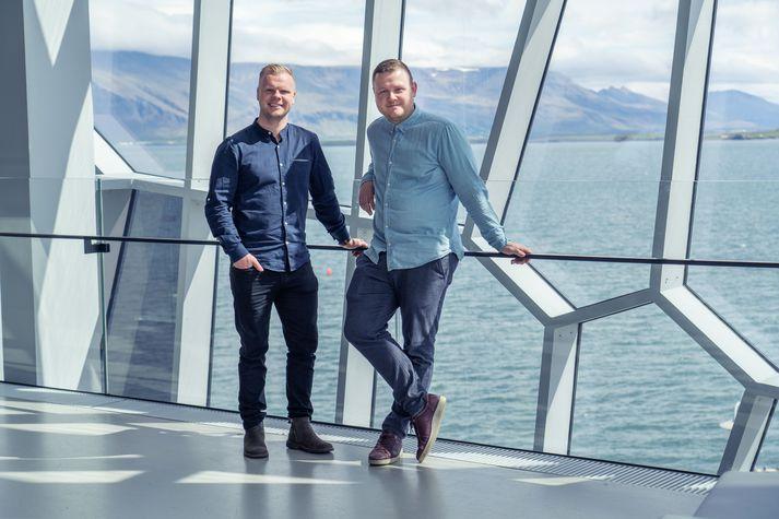 Davíð Örn og Ásgeir Vísir, mennirnir á bak við íslenska stefnumótaforritið The One.