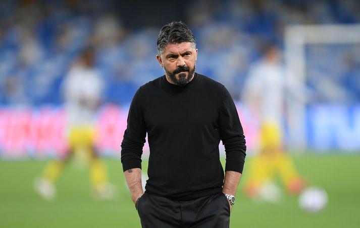 Gennaro Gattuso er orðaður við stjórastöðuna hjá Tottenham.