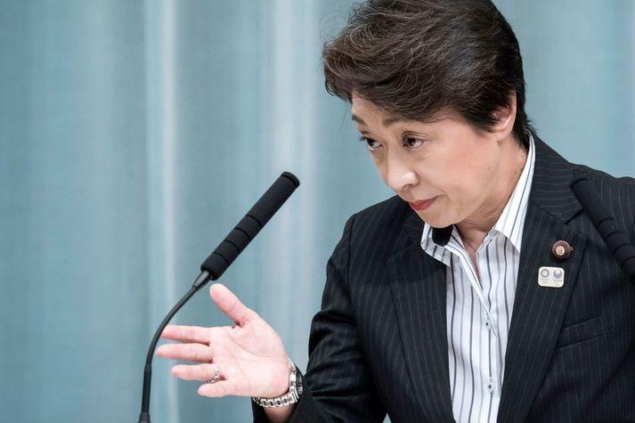 Seiko Hashimoto hefur keppt á alls sjö Ólympíuleikum.