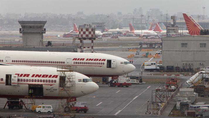 Air India er eitt elsta flugfélag Indlands en það hefur ekki skilað hagnaði frá árinu 2007.
