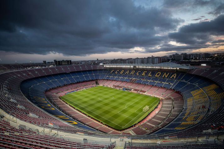 Nou Camp í Barcelona