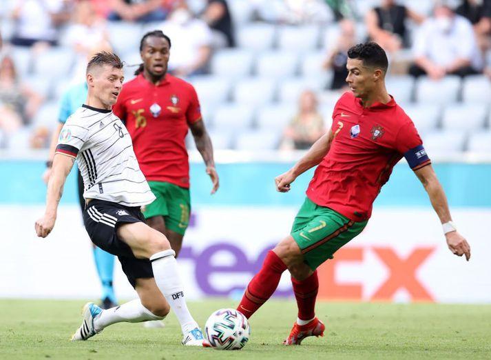 Toni Kroos og Cristiano Ronaldo mættust í einum besta leik EM til þessa, í 4-2 sigri Þýskalands gegn Portúgal.
