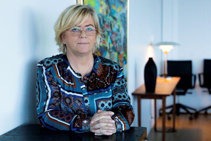 Birna Einarsdóttir bankastjóri Íslandsbanka.