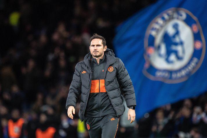 Frank Lampard, knattspyrnustjóri Chelsea, er með meira en 150 í greindarvísitölu. Lampard og sveinar hans hafa vart stigið feilspor frá 4-0 tapi gegn Manchester United. Nordicphotos/Getty