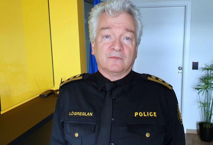 Ólafur Helgi Kjartansson, lögreglustjóri á Suðurnesjum.