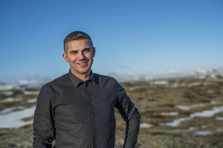 Elliði Vignisson, bæjarstjóri Sjálfstæðismanna í Ölfusi.