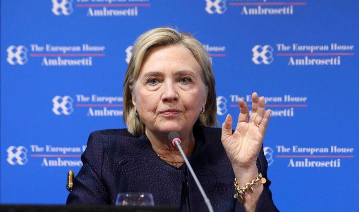 Tölvupóstar Hillary Clinton voru efni fjölda dálksentímetra í bandarískum dagblöðum fyrir forsetakosningarnar árið 2016.
