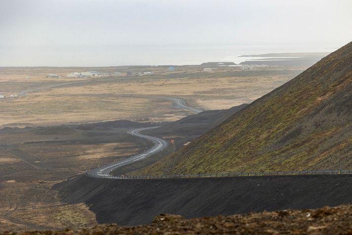 Suðurstrandarvegur liggur frá Grindavík til Þorlákshafnar.