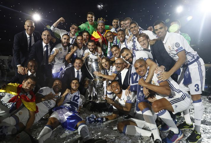 Real Madrid bar sigur úr býtum í Meistaradeild Evrópu á síðasta tímabili.