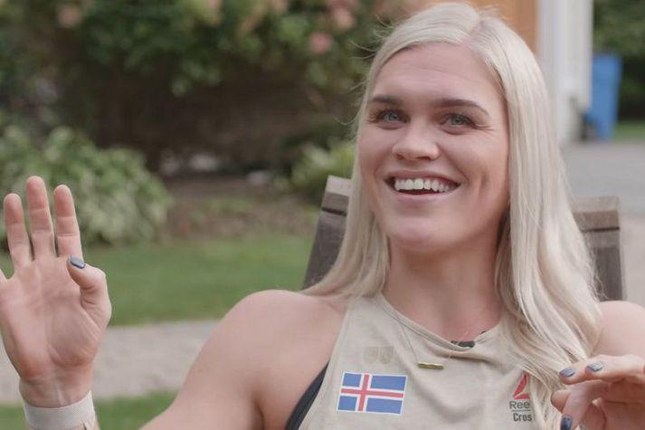 Katrín Tanja Davíðsdóttir verður vonandi brosandi eftir lokadaginn.
