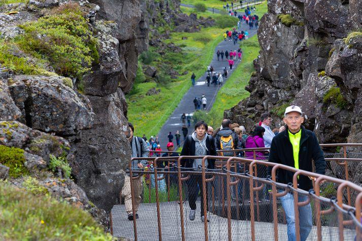 Erlendir aðilar sem selja ferðir til Íslands segja bókunarstöðu ársins betri en á sama tíma fyrir ári auk þess sem þeir eru bjartsýnni á stöðuna fyrir komandi vetri.